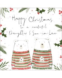 Happy Christmas to a wonderful Daughter and Son-in-Law