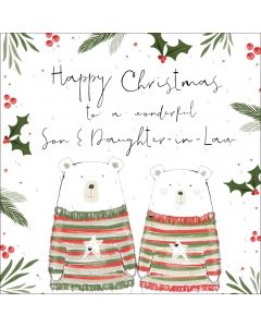 Happy Christmas to a wonderful Son and Daughter-in-Law