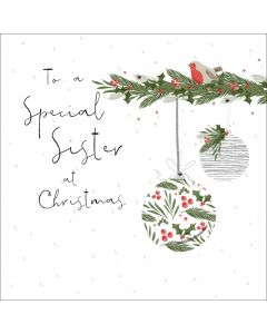To a special Sister at Christmas
