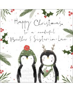 Happy Christmas to a wonderful Brother and Sister-in-Law