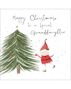 Happy Christmas to a special Granddaughter