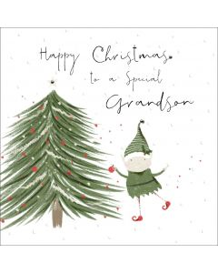 Happy Christmas to a special Grandson