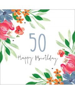 Happy Birthday - 50