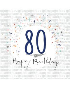 Happy Birthday - 80