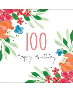 Happy Birthday - 100