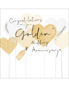 Congratulations on your Golden Wedding Anniversary