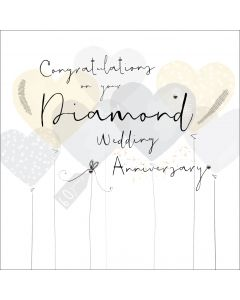 Congratulations on your Diamond Wedding Anniversary