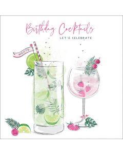 Birthday Cocktails, let's celebrate