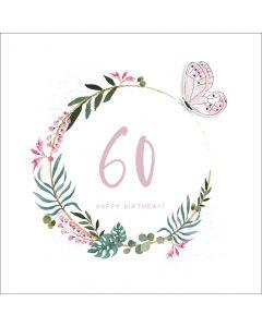 60, Happy Birthday