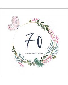 70, Happy Birthday
