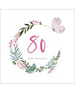 80, Happy Birthday