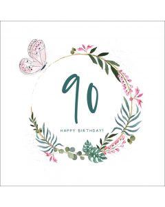 90, Happy Birthday