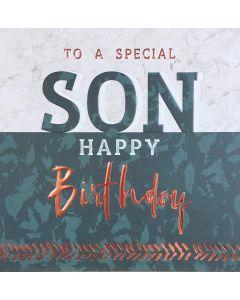 To a special Son, Happy Birthday- Happy Birthday Son