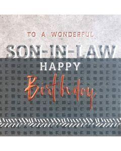 To a wonderful Son-in-law, Happy Birthday