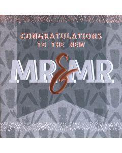 Congratulations to the new Mr & Mr