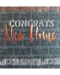 Congrats, New Home