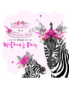 With love to a Fabulous Mum, Happy Mother's Day