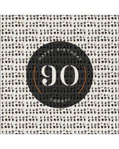Happy Birthday, 90 Today!