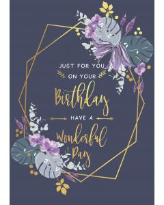Just for you on your Birthday