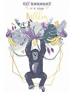 Go Bananas, it's your Birthday