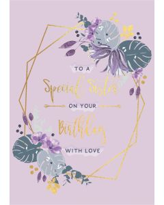 To a special Sister on your Birthday
