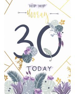 Hip Hip Hooray, 30 Today