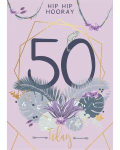 Hip Hip Hooray, 50 Today