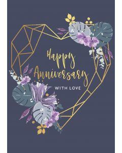 Happy Anniversary, with love