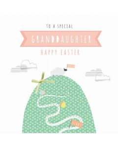 To a special Granddaughter, Happy Easter