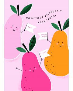 Hope your Birthday is pear-fecto!