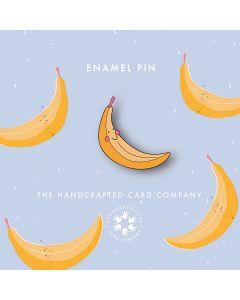 Banana Enamel Pin Badge