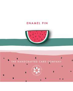 Watermelon Enamel Pin Badge