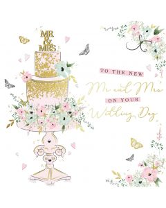 To the New Mr and Mrs on your Wedding day card