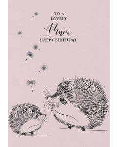 To a lovely Mum, Happy Birthday