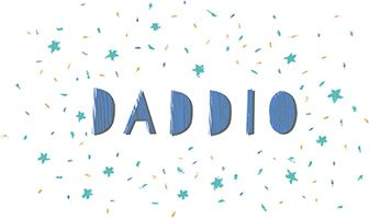 Daddio Father's Day Greeting Cards