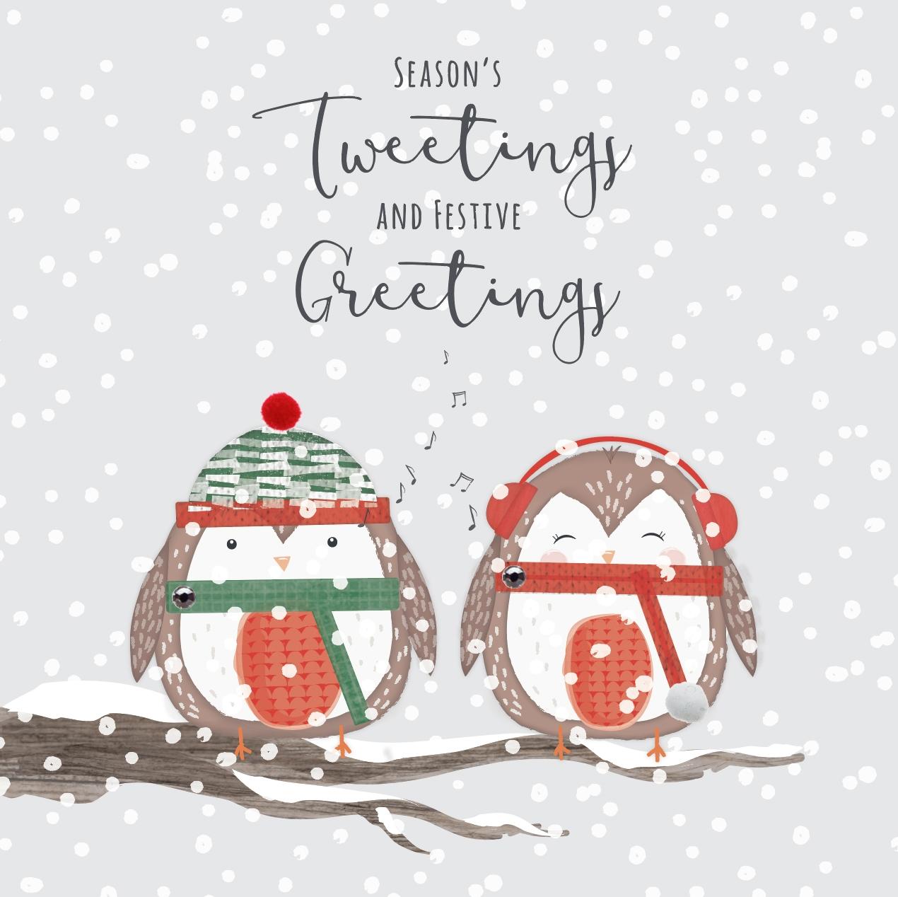 Festive Friends - Seasons Tweetings and Festive Greetings