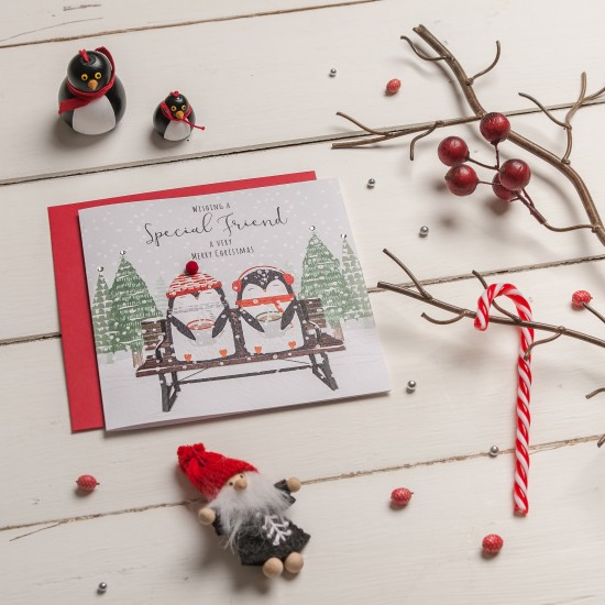 Festive Friends Greeting Cards